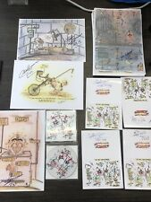 Charles Salvador /Bronson 1 Disc 1 signed Card And 1 Signed Print