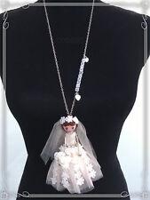 Flores niño niña que lleve las flores boda regalo novia móviles muñeca cadena niños