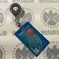 • SHIELD • SECURITY ID BADGE PULLEY DECALS • SET OF NINE • AGENT COULSON •