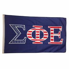 Sigma Phi Epsilon SigEp Fraternity USA Letter Flag 3' x 5'