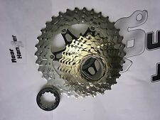 Shimano CS-HG81 Cassette Sprocket Silver 10 Speed Gear 11-34 Tooth Bike Bicycle