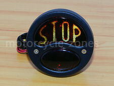 Retro LED Ford Model A Hot Rod Duolamp License Plate Tail Brake Light Chopper