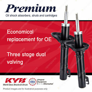 2 x Front KYB PREMIUM Strut Shock Absorbers for AUDI A3 8L 1.6 1.8 I4 FWD
