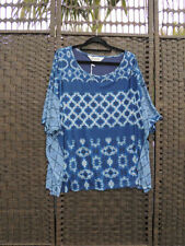 Short Sleeve Hand-wash Only Multi-Colored Plus Size Tops & Blouses for Women