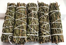 5 pk Rosemary Smudge 4' Stick ideal for Smudging Cleansing Fresh Start!
