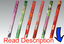 Incense Sticks Flute Choose 50 Scents Square 8 Agarbatti Fragrance Sticks