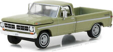Greenlight 1/64 1971 Ford F-100 Explorer Special Truck (Long Bed) Lime Gld 29968