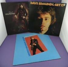 Dave Edmunds LPs - Get It / Subtle As A Flying Mallet / Repeat When Necessary