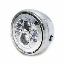 "7.7"" Chrome Projector LED Headlight for Ducati Monster S2R S4R Custom Project"