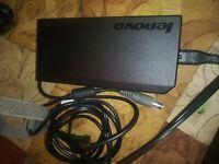 Genuine Lenovo AC 20V 170w Charger / Adapter round keyed plug