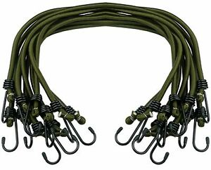 Heavy Duty Bungee Cords Wires Cables Straps Military Bungee Elastic Hooks Rope