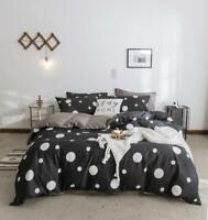 3D Simple Black White Dots KEP2752 Bed Pillowcases Quilt Duvet Cover Kay