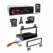 Pioneer Car Radio Stereo w/ Dash Kit Harness for 1995-up Ford Lincoln Mercury
