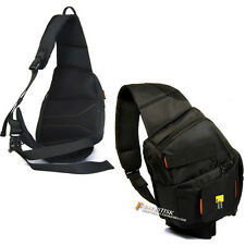 New Waterproof DSLR SLR Camera Shoulder Bag Waist Bag Backpack Ruckack Sling Bag