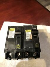 Total Of 2 ~ Square D Qo200 60 amp 240v Circuit Molded Case Switch's Breakers