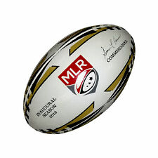 Major League Rugby Victor Elite Match Ball (Black and Gold)