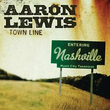 AARON LEWIS : TOWN LINE (CD) Sealed
