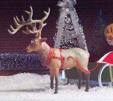 Santa's Renne No./2, maison de poupées miniature, Noël, Noël Santa