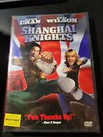 SHANGHAI KNIGHTS (DVD, 2003) New / Factory Sealed / Free Shipping