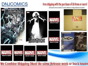 Moon Knight #1 Eight cover set NM 2021 Marvel Comics Pre-sale 07/21