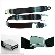 1 Pcs Black Adjustable Car Airplane Safe Belt Plane Seatbelt Extender Safety Kit