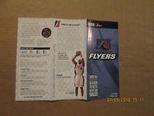 D-League Fort Worth Flyers Vintage Circa 2005-2006 Season Ticket Brochure