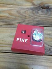 - Faraday 2834 Fire Alarm Horn Strobe Red Tested