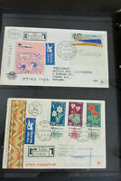 Israel Covers Registered & Flown Early Collection