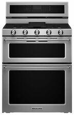 KitchenAid -KFDD500ESS Freestanding Double Oven Dual Fuel Convection,Range-St st