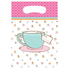 Alice in Wonderland Tea Time Loot Favor Birthday Tea Party Supplies Favors