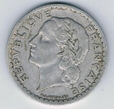1940 Repvbliqve Francaise France 5 Francs ALUMINUM COIN