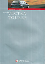 VAUXHALL VECTRA TOURER SPECIAL EDITION BROCHURE 1998MY VM9800044 08.98 (UK)