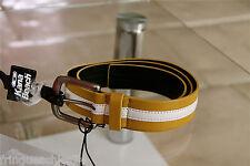 cinturón de piel 98 cms KANABEACH herman NUEVO CON ETIQUETA valor