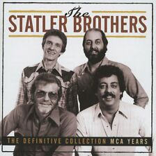THE STATLER BROTHERS - THE DEFINITIVE COLLECTION: THE MCA YEARS 2CD SET (2012)