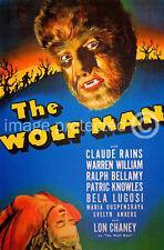 The Wolf Man Bela Lugosi Vintage Horror Movie 11x17 Poster