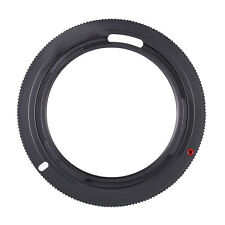 Black M42-PK Mount Adapter Ring For Pentax Camera M42 Lens To PK K Mounts New