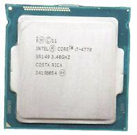 Intel i7-4770 4th Gen. (SR149) Quad-Core, 3.4GHz, 8MB, LGA1150 CPUs