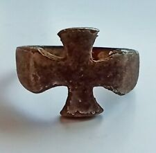 Germany soldiers ring Iron cross Military ww1 WWI or WWII ww2 Bronze Silvering