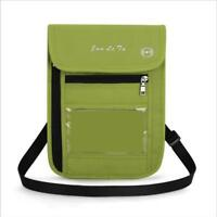 Men Women's Travel Shoulder Bag Cell Phone Crossbody Purse Sports Bag W