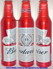 2016 WORLD RENOWNED BUDWEISER ALUMINUM BEER BOTTLE-CAN USA KING BUD A-B AMERICA