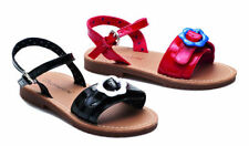 Scarpe nere medio con fibbia per bambine dai 2 ai 16 anni