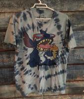 Disney Lilo and Stitch Adult T-Shirt Large Tie Dye