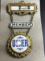 Odd Fellows Member Usher Pin