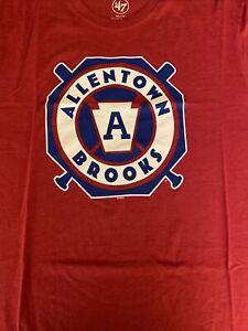 Allentown Brooks Baseball Shirt XXL Brand '47