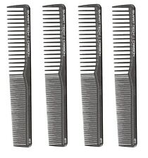 4 PACK SMART TECH PRO REG CUTTING WIDE TOOTH CARBON COMB CUTTING COMBS