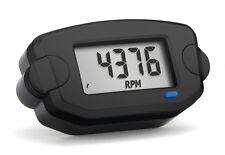 Trail Tech 742-A00 TTO Tach Hour meter RPM and Clock, Black, Rev Counter