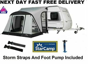 Dorema Starcamp Quick And Easy 265 AIR Inflatable Caravan Porch Awning 2021