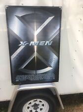 X Men Movie Poster Signed 2000 FPC F.P.C. Mounted Repurposed On Back No Glass
