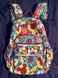 Disney Vera Bradley Collage Backpack, Perfect Petals. Pre~Owned & Nice Condition