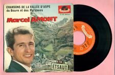 MARCEL AMONT - CHANSONS DE LA VALLEE D'ASPE - ETSAUT - POLYDOR 27045